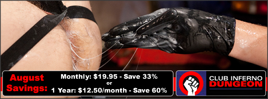 August Discount At Club Inferno Dungeon - Save Up to 60%