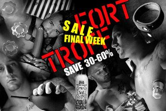 Our Fort Troff SALE only CUMS twice a Year.        Save 30 to 50 percent.        Quantities are LIMITED…so hurry fuckers!